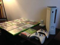 I have for sale an Xbox 360 60GB console with many