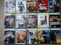 Couple of xbox 360 console games available... Have a