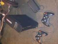 I have a xbox 360 elite in excellent condition with 2