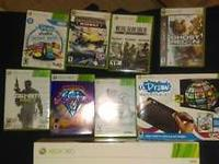 Hi I have a few random Xbox 360 games DJ hero 2 is a