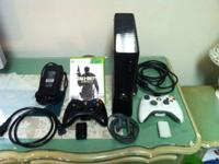 Like brand-new Xbox 360 Slim for sale. Comes with 2