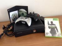 I am selling this xbox 360 slim which is like new. The