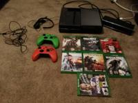 I'm selling an Xbox One (500gb) with Kinect and headset