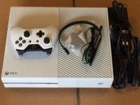 I am selling my personal Xbox One Limited Edition