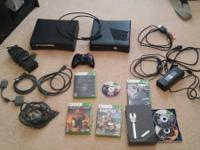 (1) Xbox 360 Slim        Includes: Power supply, HDMI