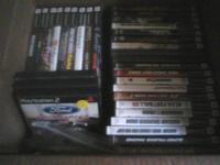 MEMORY CARD I HAVE PS2 SYSTEM CONTROLLERS 20 TO 25