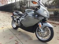 The BMW K1200S is a wonderful piece of machinery. It