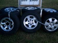 I have a set of XD Monster Chrome Wheels 18 x 9 with a