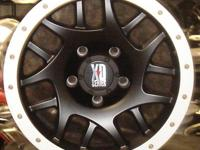XD123 BULLY offraod wheel. Brushed Aluminum Simulated