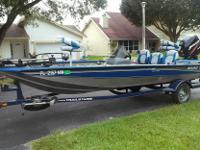 >>>>THIS IS AN EXCEPTIONAL BASS BOAT! LOW HOURS AND