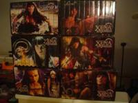 xena all six seasons complete collector set VHS 50.00
