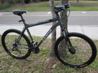 "21 "" alum frame Jamis trail x Disc brakes new tires"