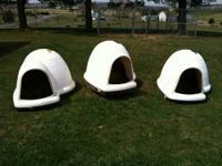 I have 3 dog houses these are the XL Petmate Indigo Dog
