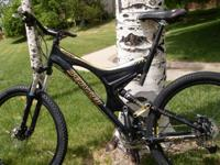 This bike is a great climber with balanced control for