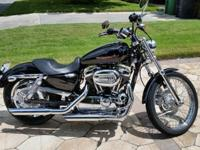Ok i have a 2005 XL1200 Harley Davidson Sportster with