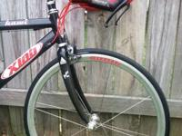 For sale is a Xlab Hawi Triathlon bicycle. The bike is