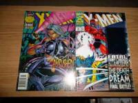 im saling xmen comic books for $2.00 each or $28.00 for