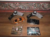 XMODS Street RC Corvette and Mustang Starter Kits. 1:28