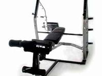 Xodus FM-G3151 Weight Bench with preacher curl and leg