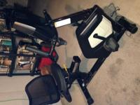 recumbent bike 2 years old excellent condition gently
