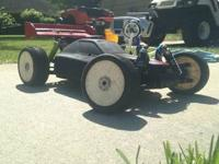 Xtm Nitro buggy, has 4.6 cc ofna force motor swap and