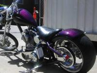Pro build by Xtreme Cutom Chopper. 5000 miles, custom