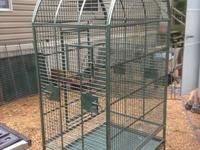 I have a Macaw Cage, 40 inches across, 30 inches deep,