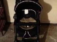 Baby stroller seat can be laid back or sat up cup