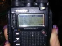 """THE RADIO"" by YAESU. Triple band heavy duty"