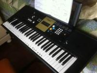 Yahama YPT-220 digital keyboard, excellent condition -