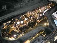 For sale I have a like new Yahama saxophone that I need