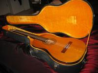 Vintage Yairi 9000 Classical guitar. Yairi Guitars are