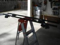 Yakama roof racks, attaches to existing racks. Used on