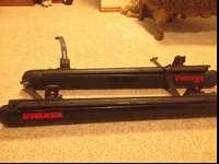Near new Yakima ski/snowboard rack.Includes locks and