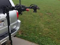 For sale is a Yakima BigHorn 4-Bike Hitch Mount Rack