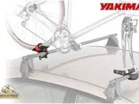 Two sets of Yakima Boa bike rack. Includes two forks to