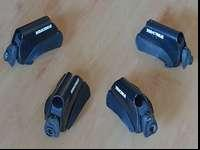 Set of four Yakima Lowrider. Work great and are in