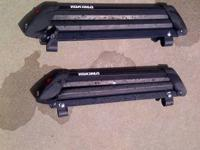 Yakima Ski/Snowboard Rack with locking cores.  Will