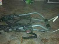 3 bike truck mounted bike rack, $100obo, please call