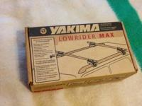 This is a set of Yakima Roof Top Rail Rider Towers.