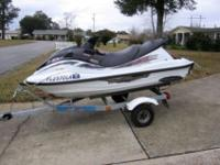 This Great Looking, 1999 Yamaha 1200 XLT Waverunner
