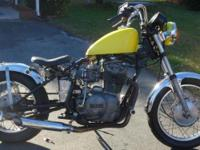 Yamaha 1984 400XS Motorcycle Bike Runs great call  or