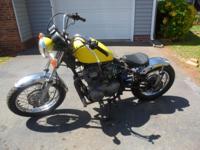 Yamaha 1984 400XS Bobber Motorcycle Bike 3F-8023668