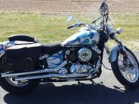2002 YAMAHA 650 V-STAR CUSTOM MOTORCYCLE - Custom paint