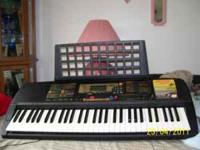 Yamaha 225psr dose it all, auto in right key,show you