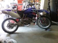 2003 yamaha 250, 4 stroke in excellent condition.