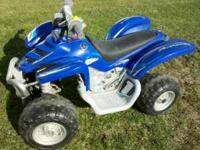 For sale is a used Yamaha kids 4 wheeler. It is 3 years