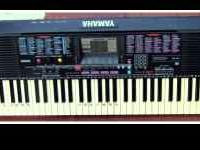 Yamaha 61-Key (Full-Size Key) MIDI Keyboard PSR220 with