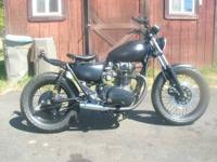 This is a 1981 XS650 Special that has been completely