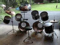 I have a Yamaha double set of drums that includes two
